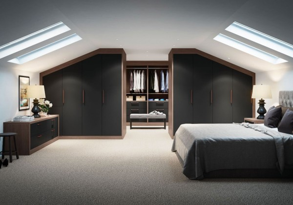 fitted bedroom walk-in wardrobe leeds